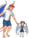 Findlaech and Hero Redesign by Nebulan