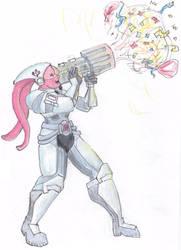 Pinkie Pie Commando by Nebulan