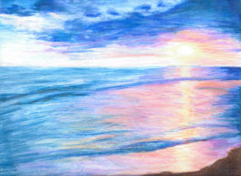 Beach by Nebulan
