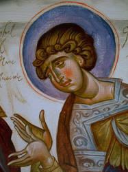 Warrior Saint by florian-lipan
