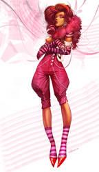 Pink angel by velinov