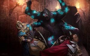 Reincarnix Girallon Battle by velinov