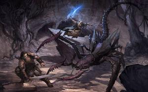 Demon Fight by velinov