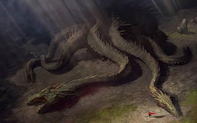 Hydra monster II by velinov