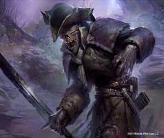 Sightless Ghoul by velinov