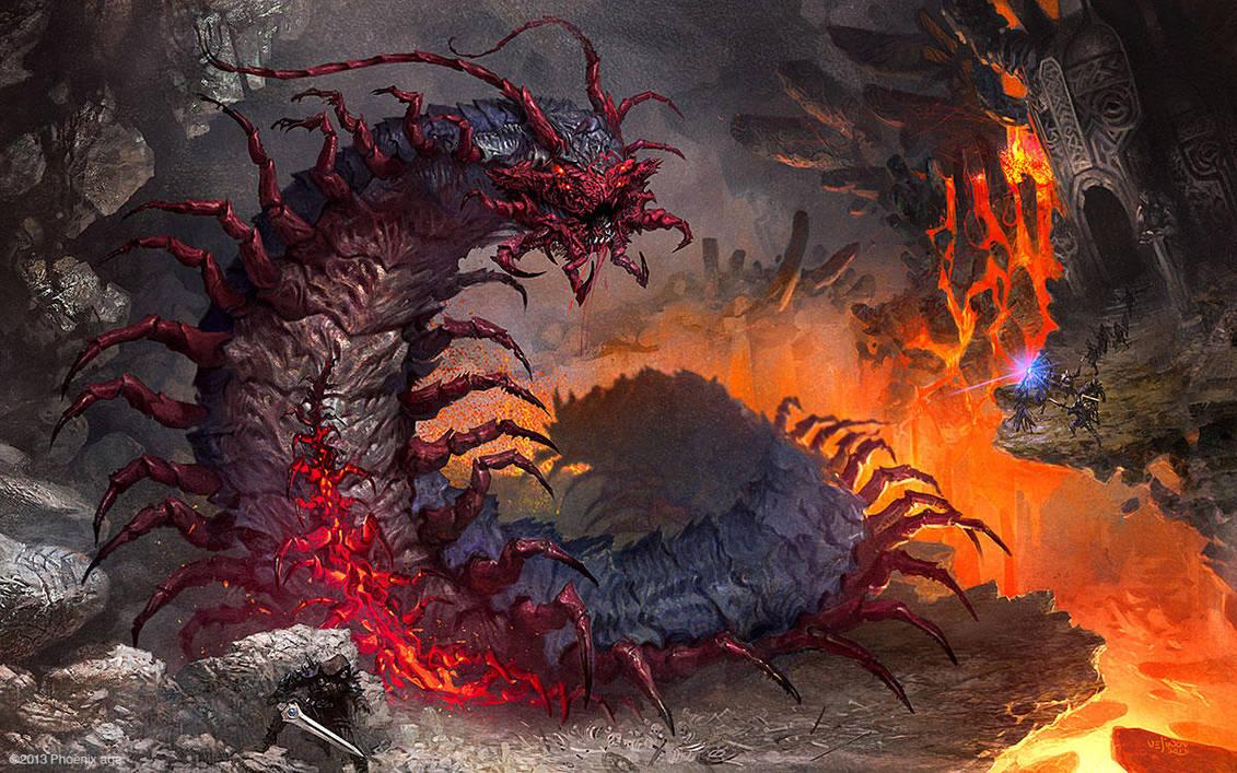 Magmapede by velinov