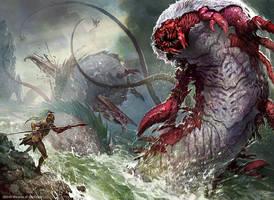 Kraken of the Depths by velinov