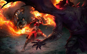 Devour in Flames by velinov