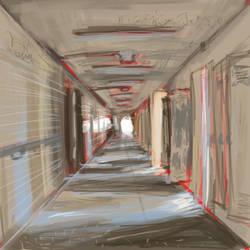 The Hallway by adlez-vaatixmidna