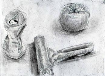 Still life drawing by adlez-vaatixmidna