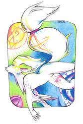 Redraw: I dream in Colour by Desheria