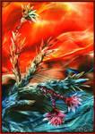 Indian Rose by Villa-Chinchilla