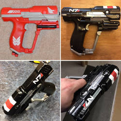 N7 pistol by gringo4ninja