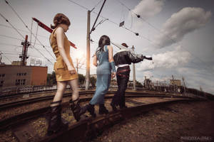 Final Fantasy VIII: Following the leader by ElenaLeetah