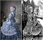 Opera (Thores art) - Milian Carestia side by side by ElenaLeetah