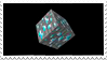 Minecraft Diamond Block Stamp by LazingAbout94