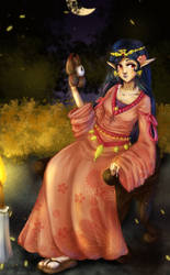 Princess Hilda .: Festival by Le-Vane