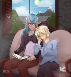 An Afternoon with You by Le-Vane