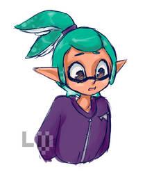 Squidkid doodle by Le-Vane