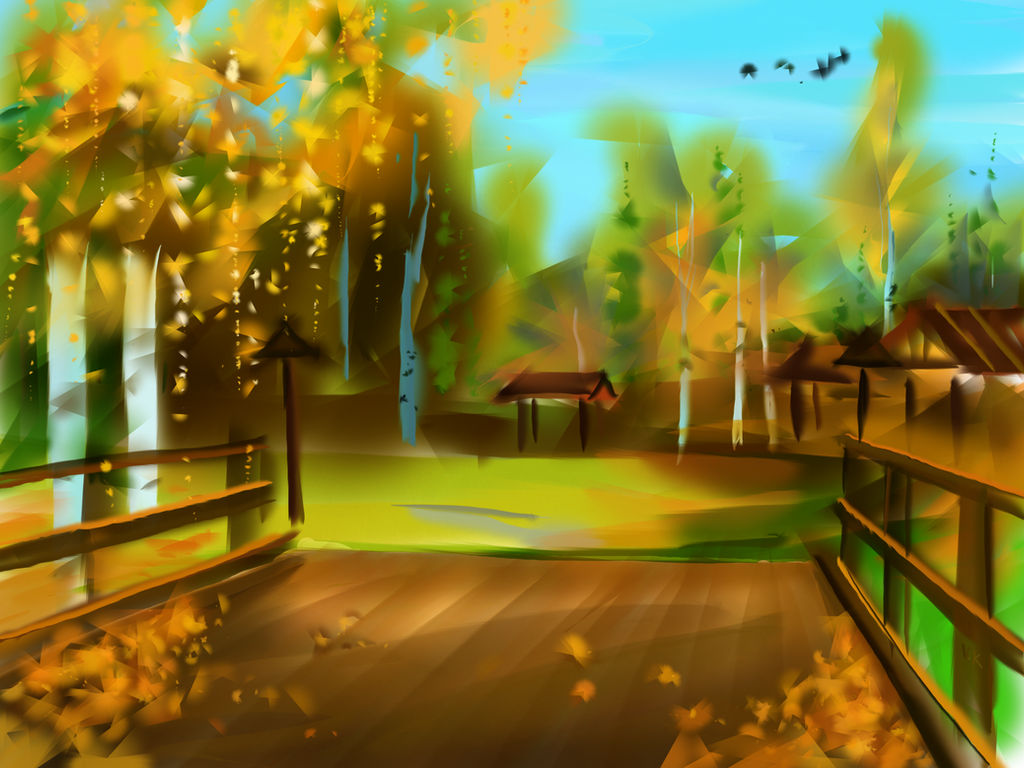 autumn nature by Vov-Ka