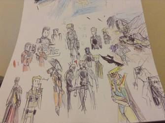 dragunalb charactor sketchs by Lambda-fallout125