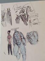 halloween merc costumes by Lambda-fallout125