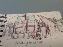 demozarg command post by Lambda-fallout125