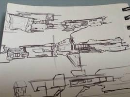 long ships doodles by Lambda-fallout125
