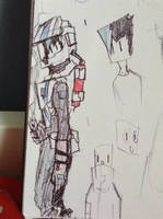 cyra doodle: spacesuit by Lambda-fallout125