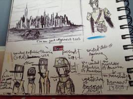URA doodles by Lambda-fallout125