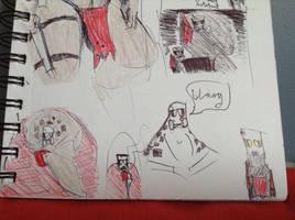 kavali sarge doodle by Lambda-fallout125