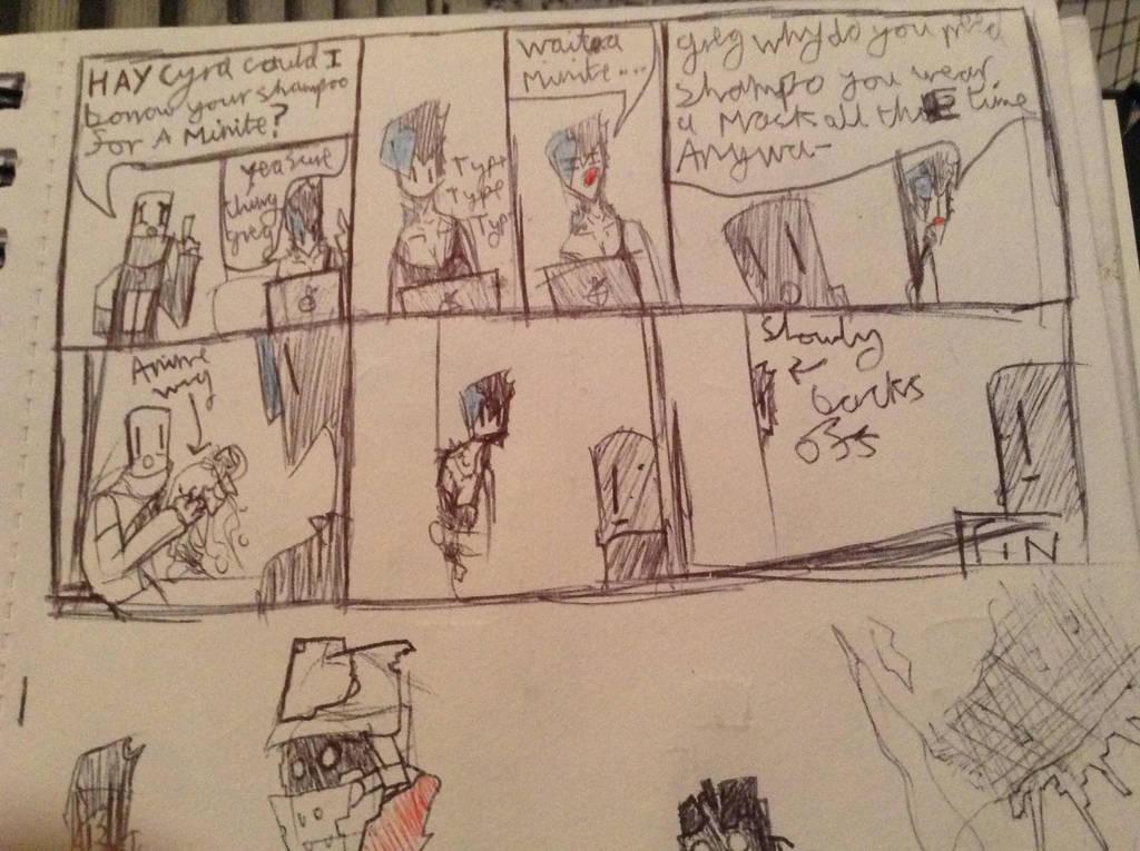 cyra-greg comic by Lambda-fallout125