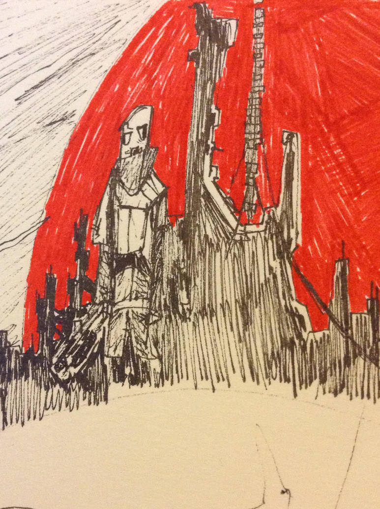 Red star city by Lambda-fallout125