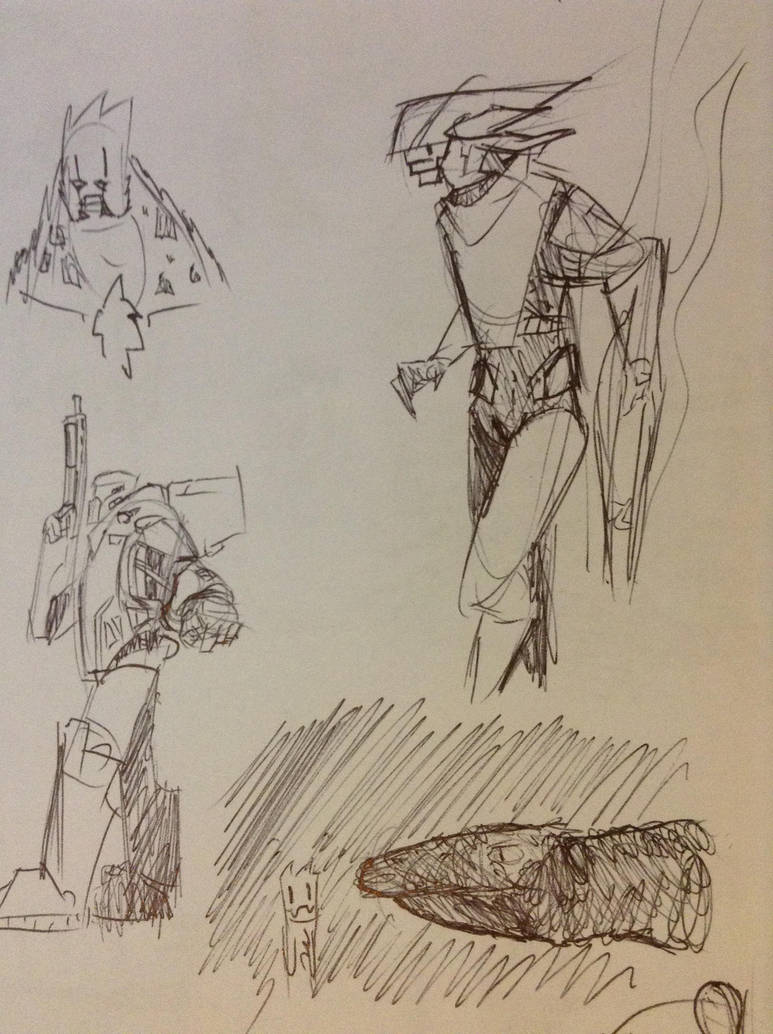 even more doodles by Lambda-fallout125