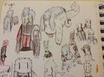 yet another asortment of doodles by Lambda-fallout125