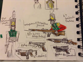 Armaments of the Political Gaurd by Lambda-fallout125