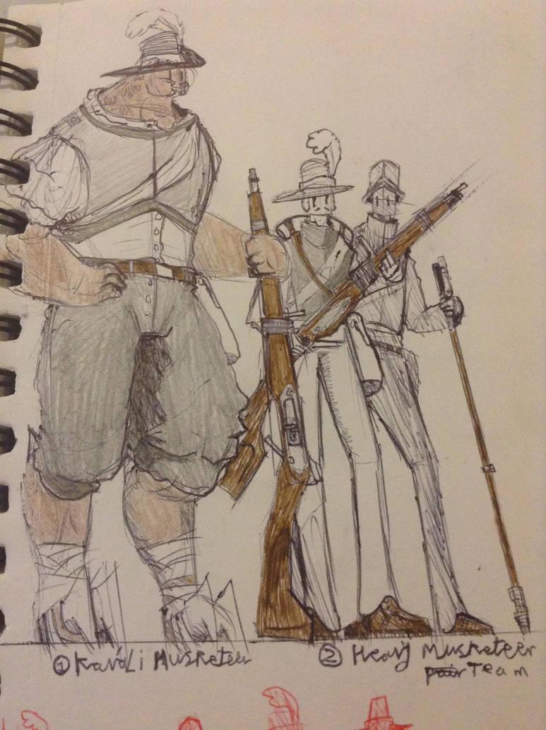 Kavali Musketeer by Lambda-fallout125