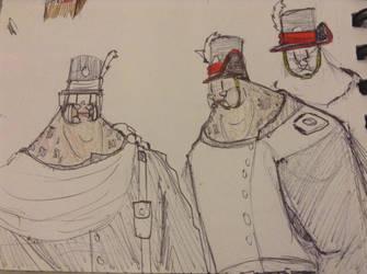 Kavali uniform hats by Lambda-fallout125