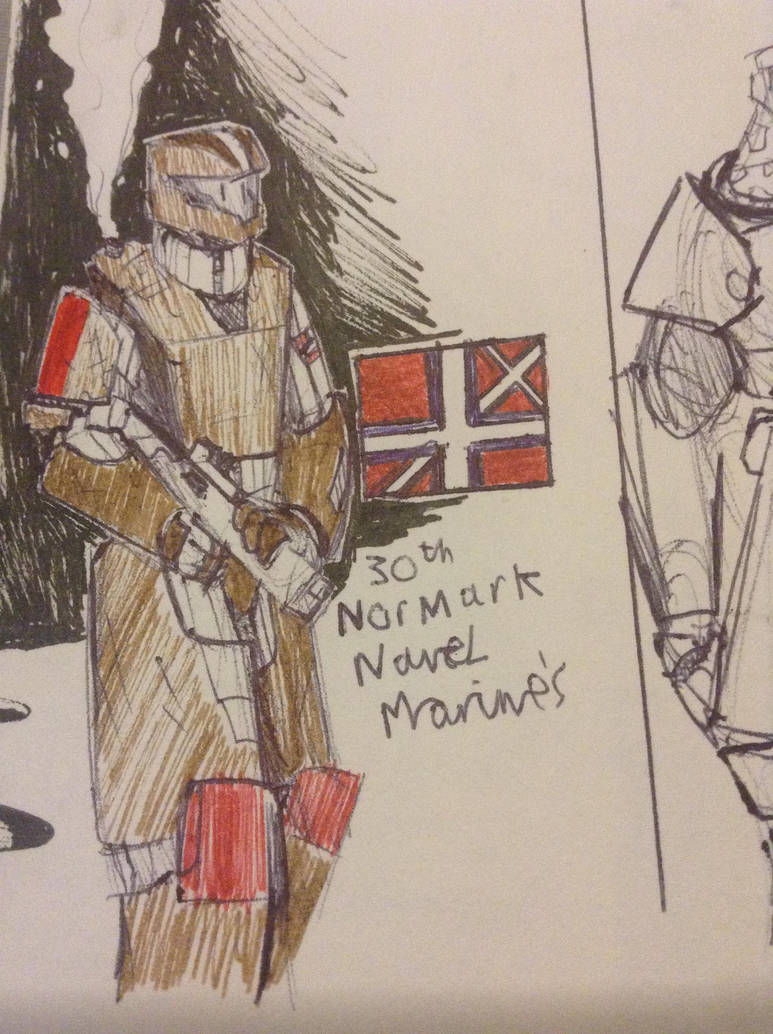 Colonial Regiment #2 NorMark by Lambda-fallout125