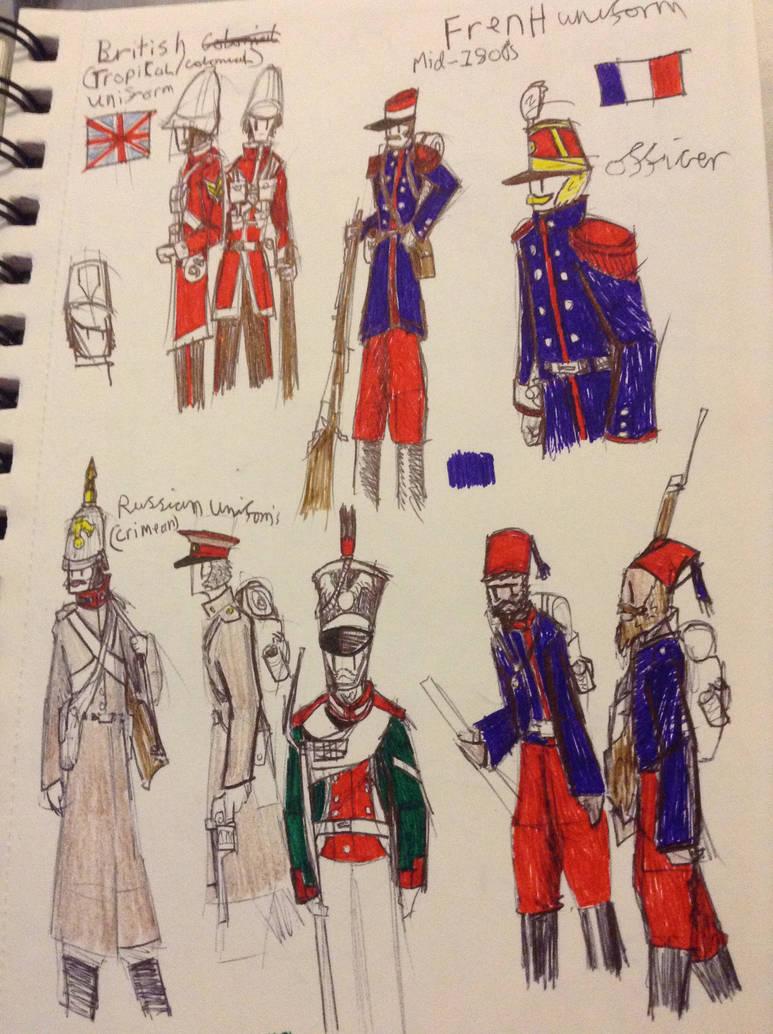 Victorian Uniforms by Lambda-fallout125