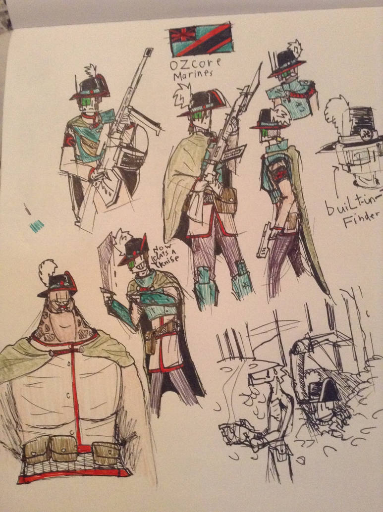 Colonial Regiments #7 The Ozcore Ozzie's by Lambda-fallout125