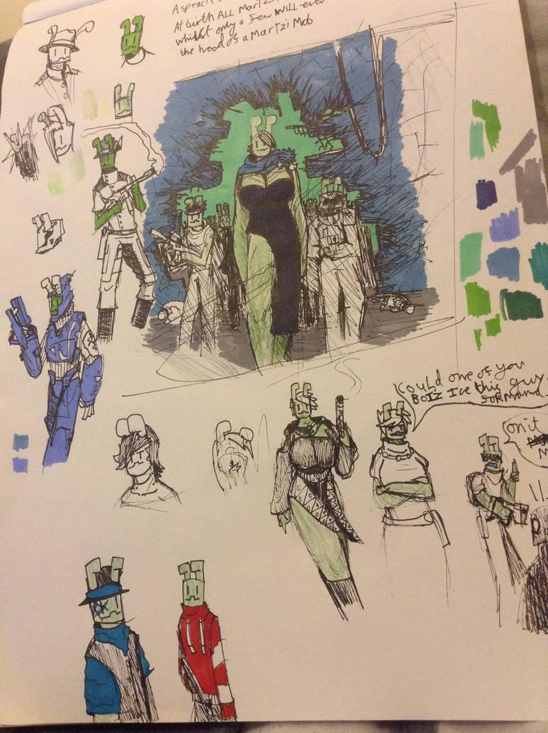 Martski mobsters by Lambda-fallout125