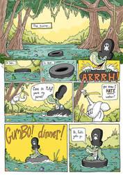 Comic ideas by HungryBearInc