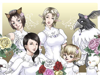 FFXI - Who's the bride? by powertaiyou