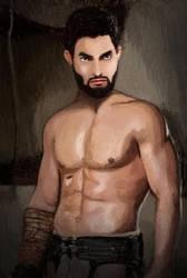 Derek Gladiator by SasunaruTLA