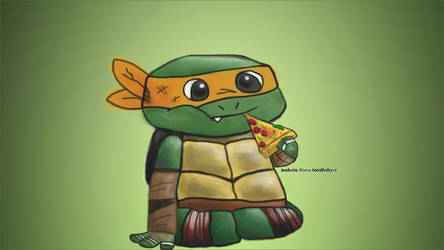 Hungry Ninja Turtle by toinfinity18