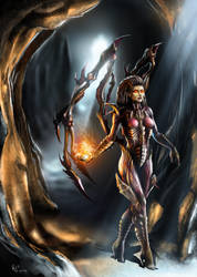 The Queen Of Blades by ruslanos2008