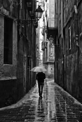 Barcelona by piechot