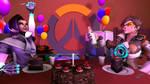 happy second birthday Overwatch by Antaktika