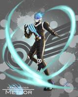 Kamen Rider Meteor (Revised) by the-newKid